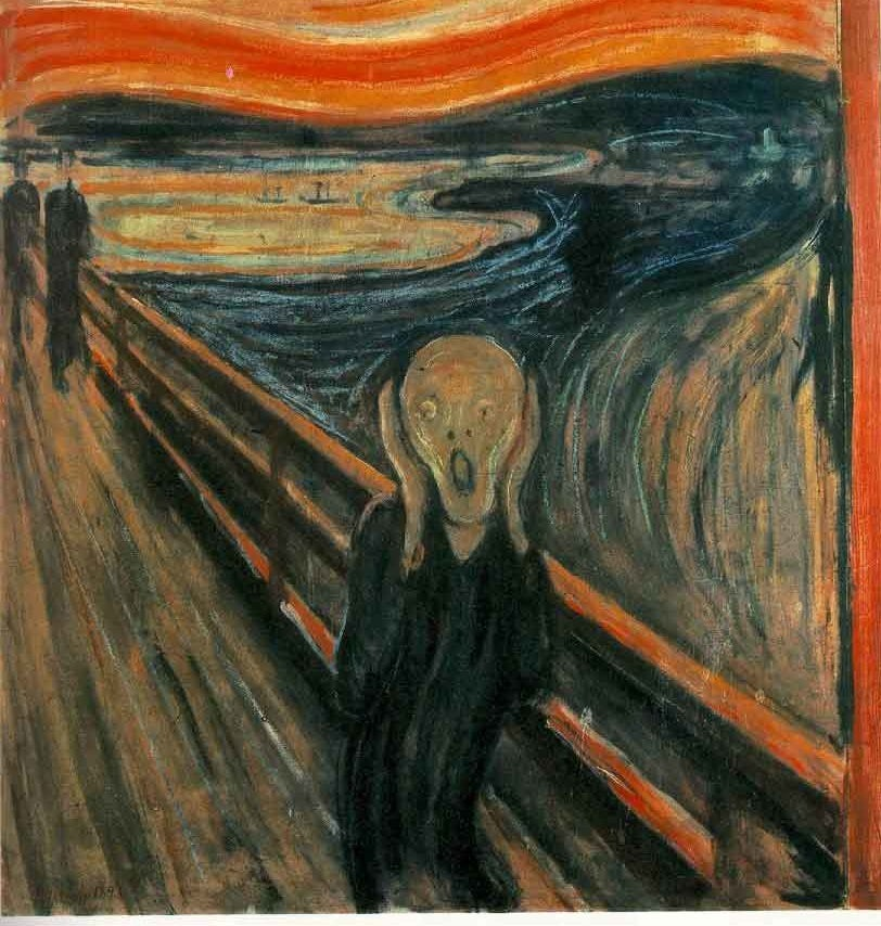 Edvard Munch's expressionist masterpiece, The Scream
