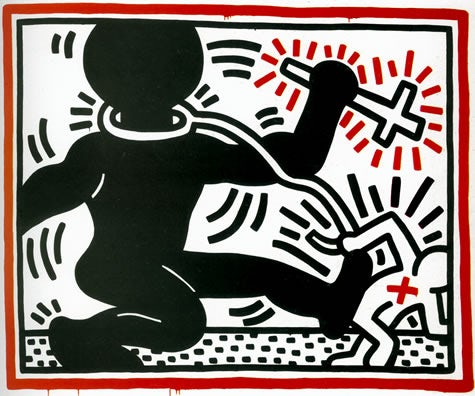 expressionism art by Keith Haring