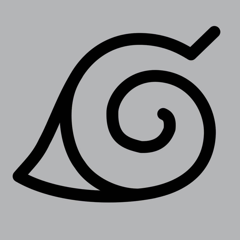 Naruto anime logomark