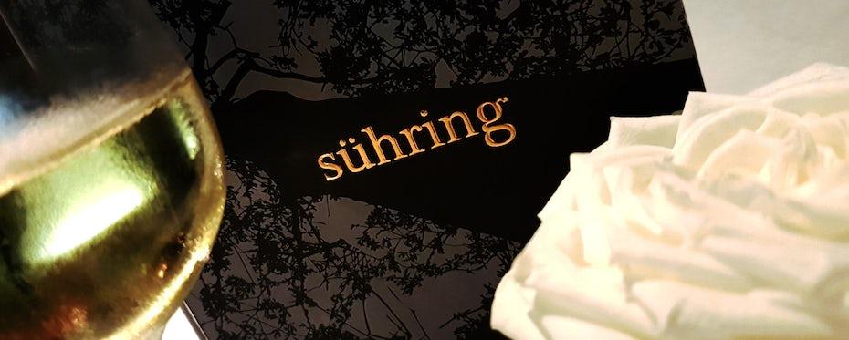 famous restaurant logo sühring