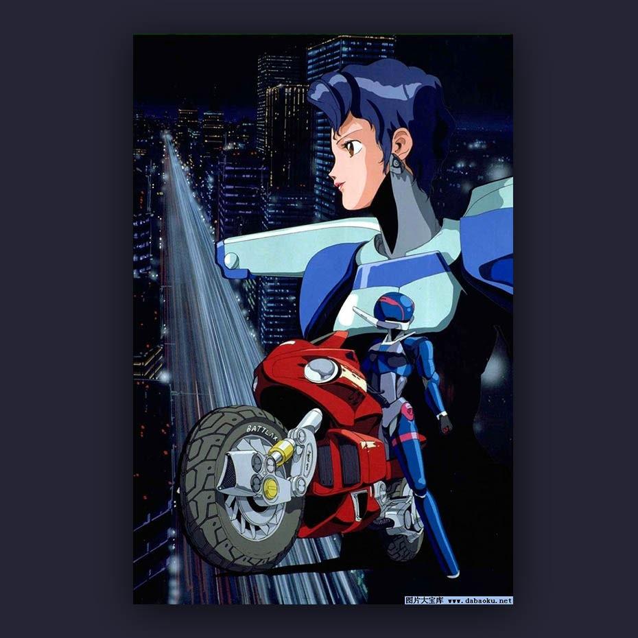 1987 anime Bubblegum Crisis