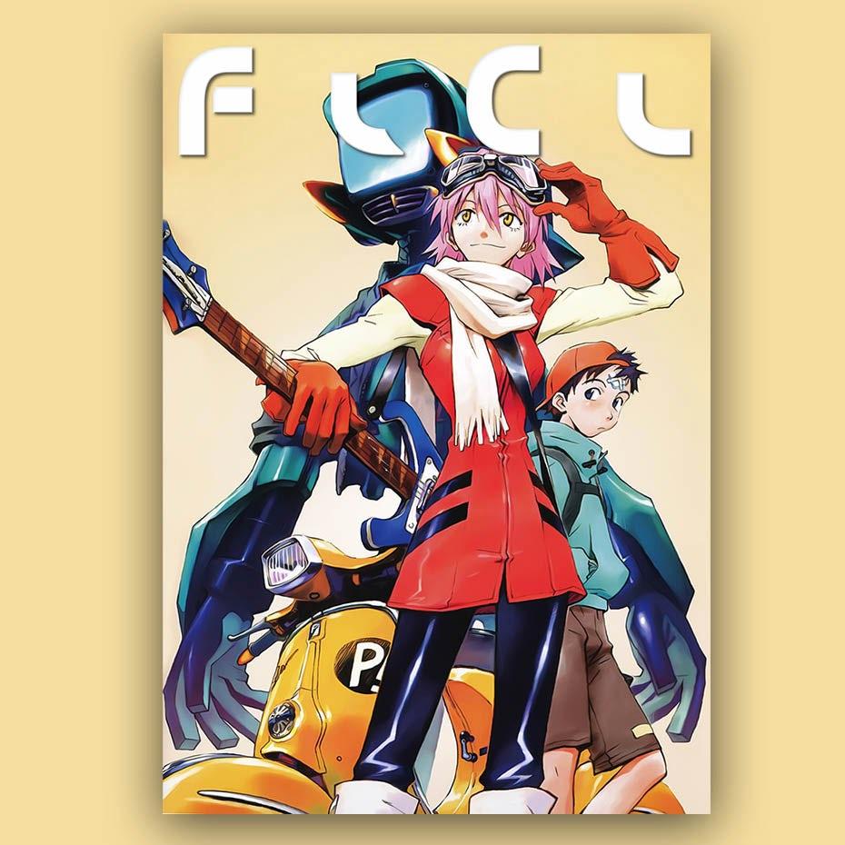 2000 anime FLCL
