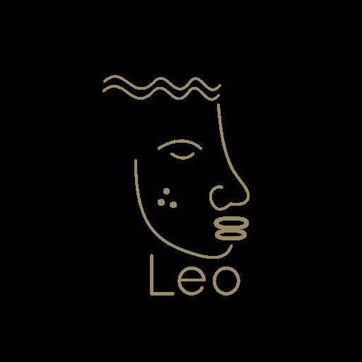 famous restaurant logo Leo
