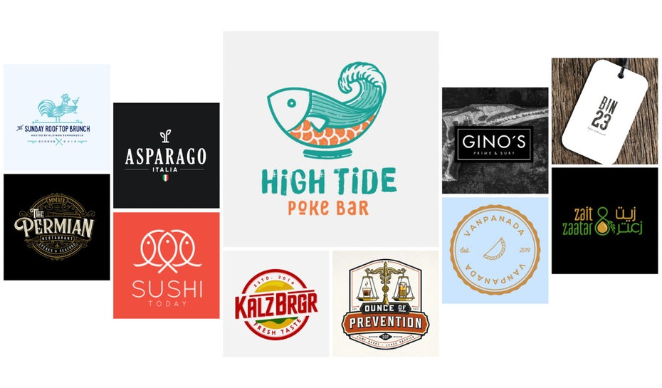 41 of the best restaurant logos for inspiration