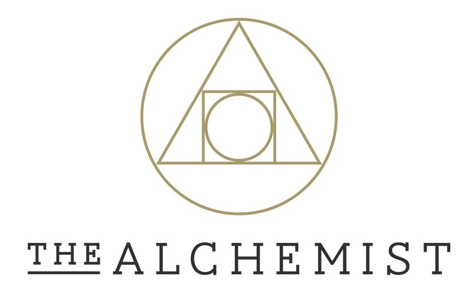 famous restaurant logo The Alchemist