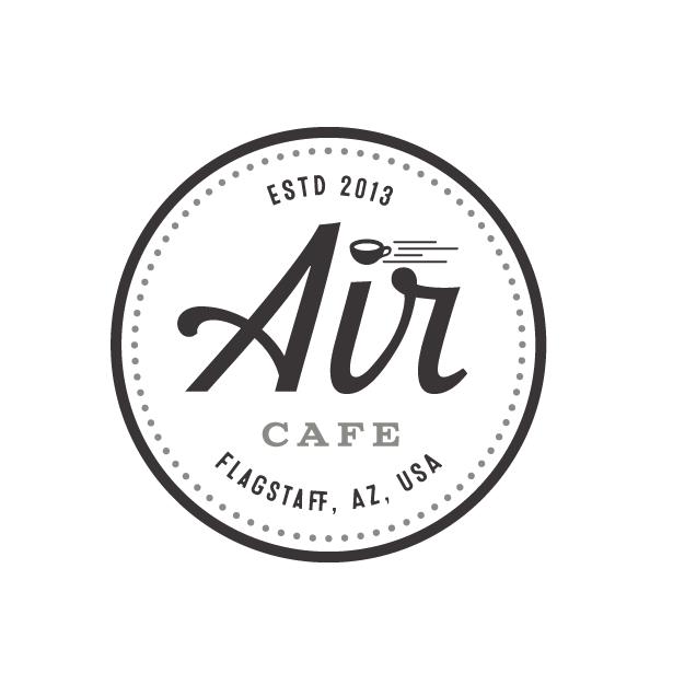 monochrome restaurant logo