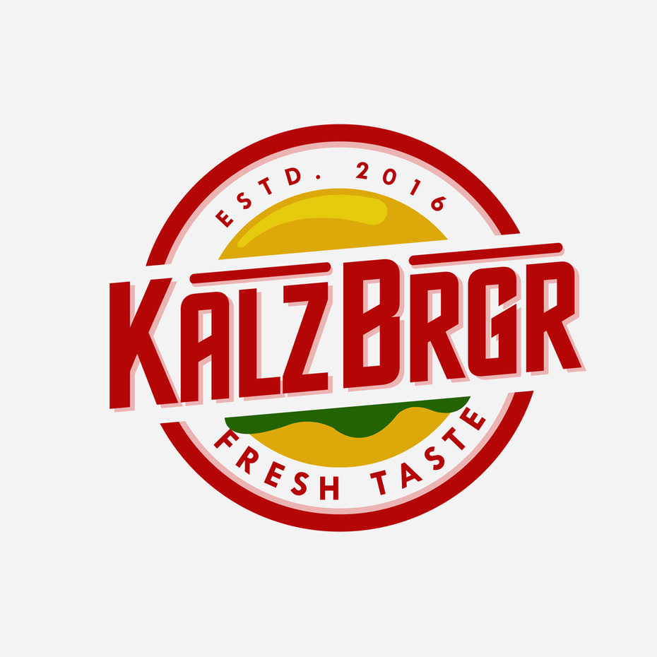 burger logo for burger restaurant
