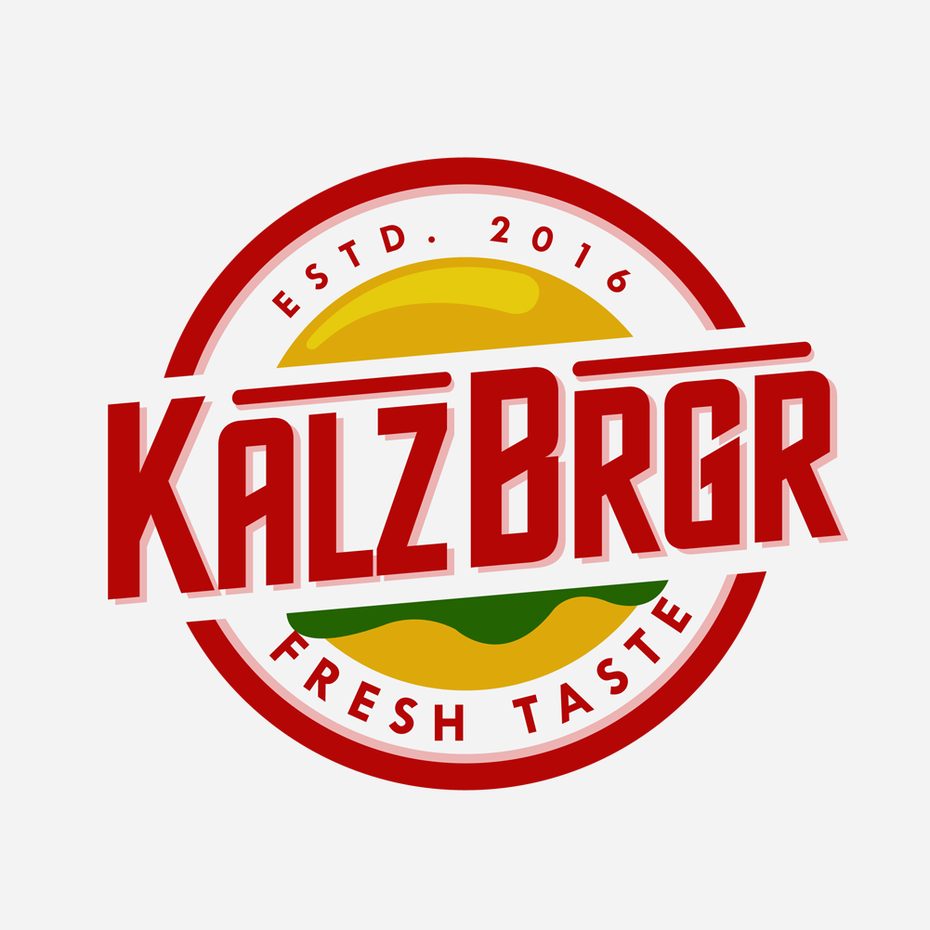 burger logo for burger restaurant