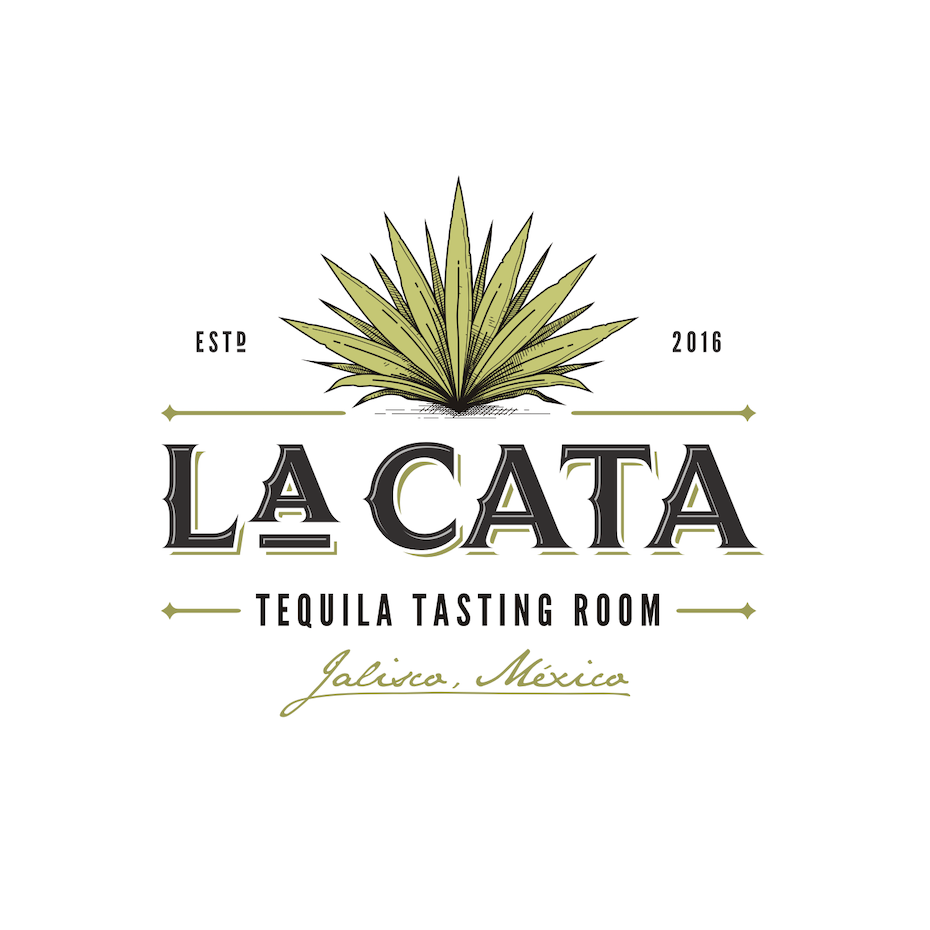 classic and timeless restaurant logo with illustration of cactus