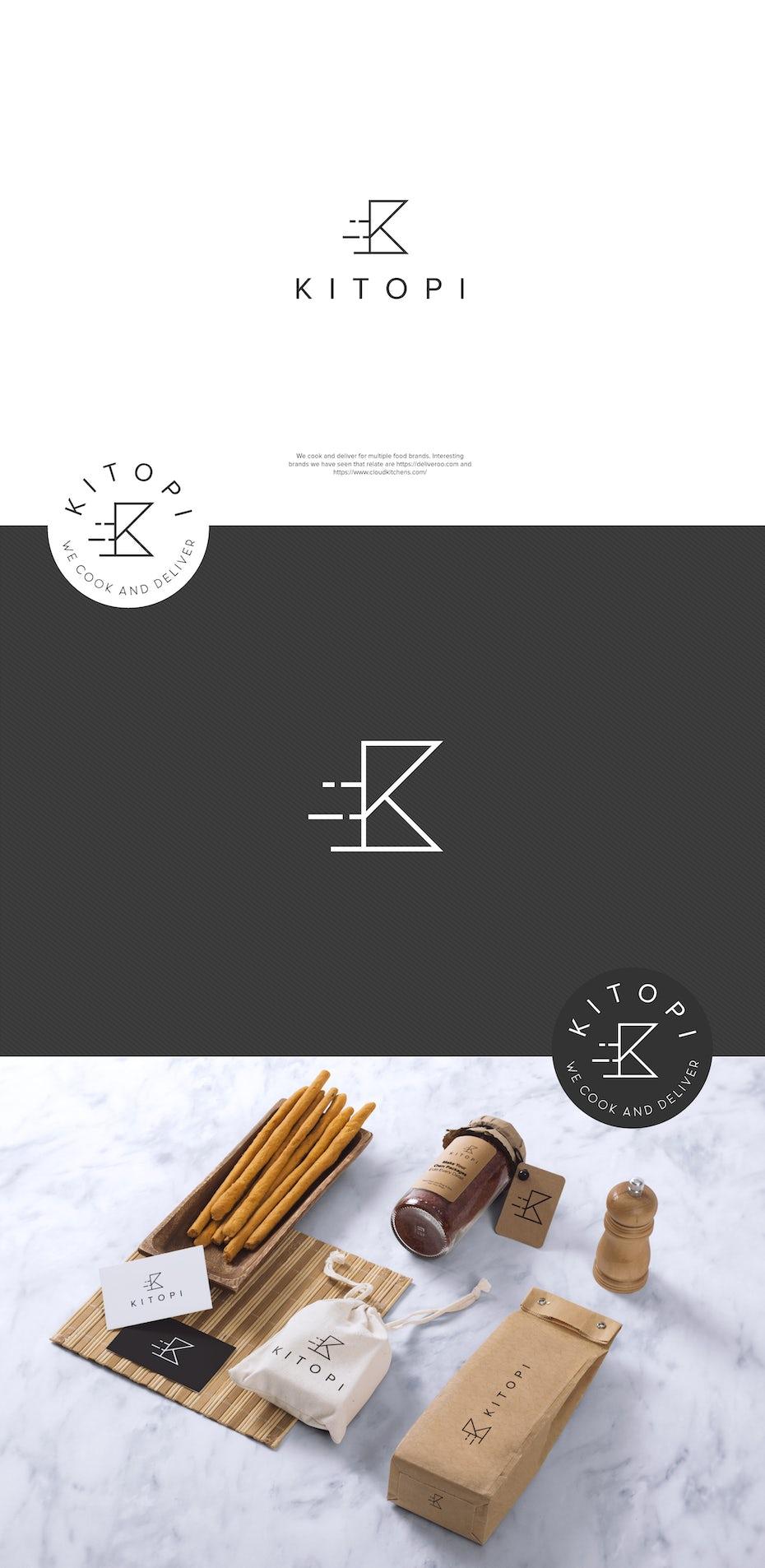 Kitopi packaging