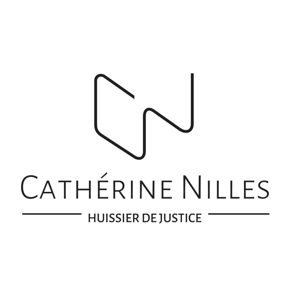 catherine nilles law business card and logo