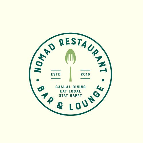 simple classic restaurant logo emblem