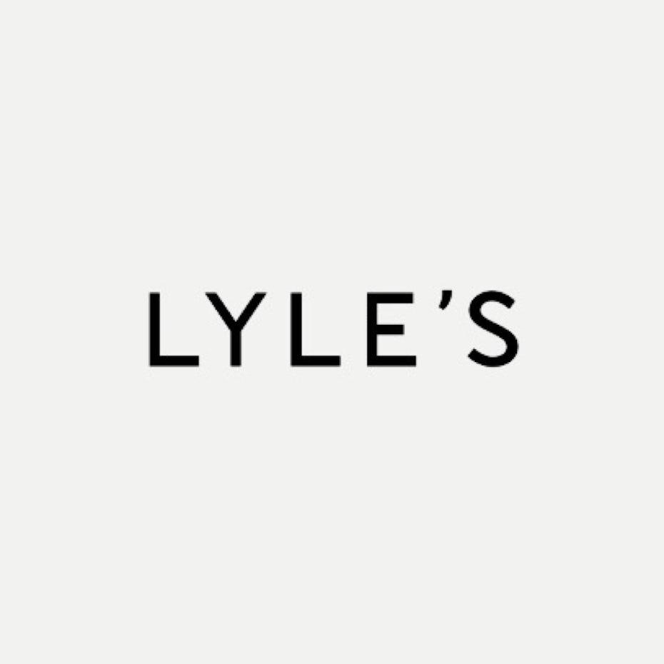 famous restaurant logo Lyles