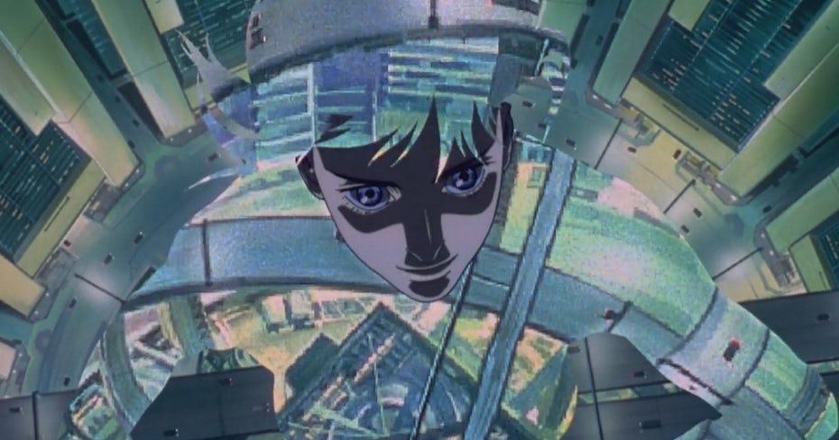 1995 anime Ghost in the Shell