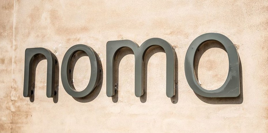 famous restaurant logo noma