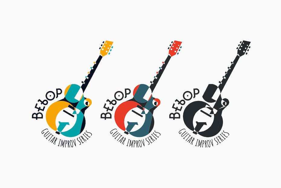 Ejemplo de tendencias de diseño gráfico 2020: un diseño de logotipo abstracto inspirado en el renacimiento de Harlem