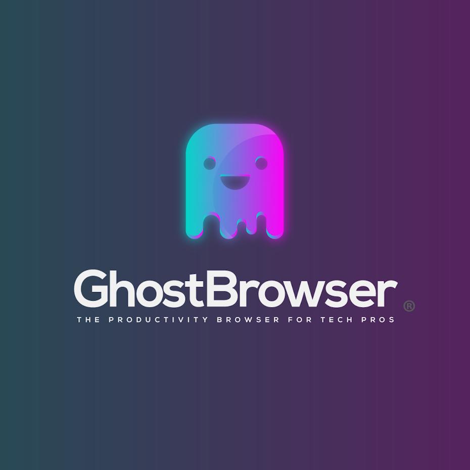 Logo design trends example: 3D gradient logo