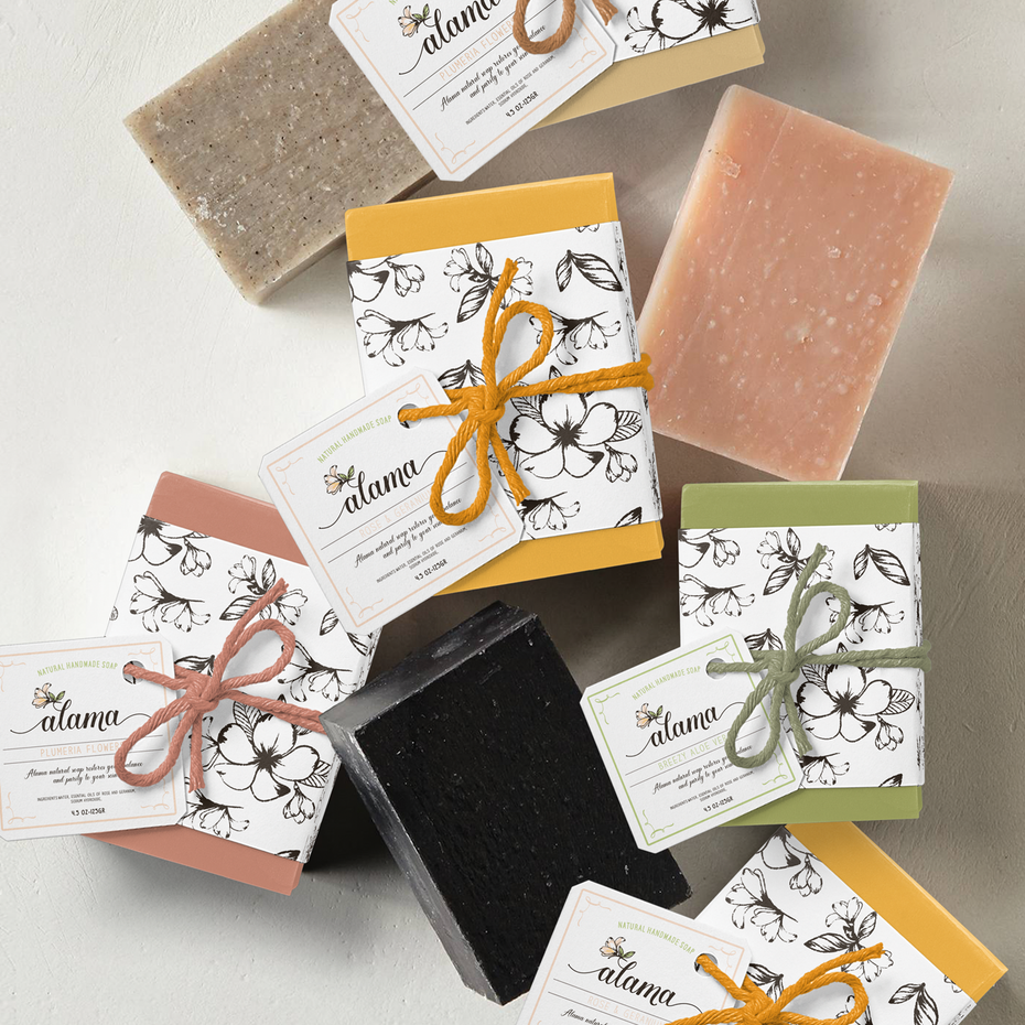 Packaging design trends 2020 example: ecofriendly soap packaging