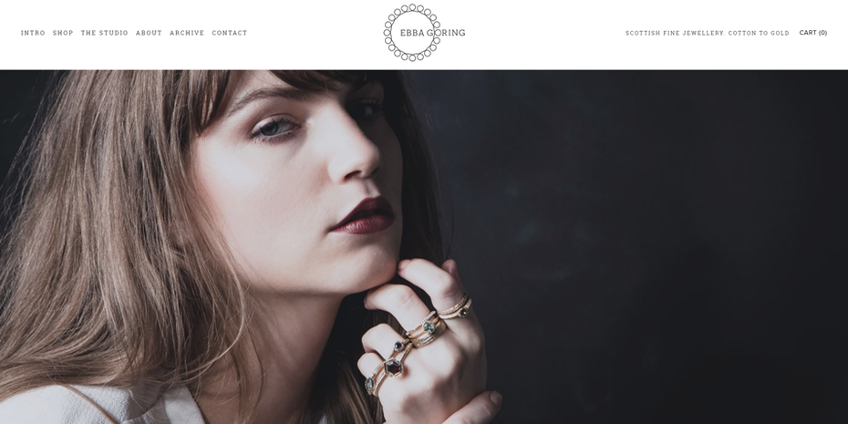 Example of 2020 web design trend of large photos and videos