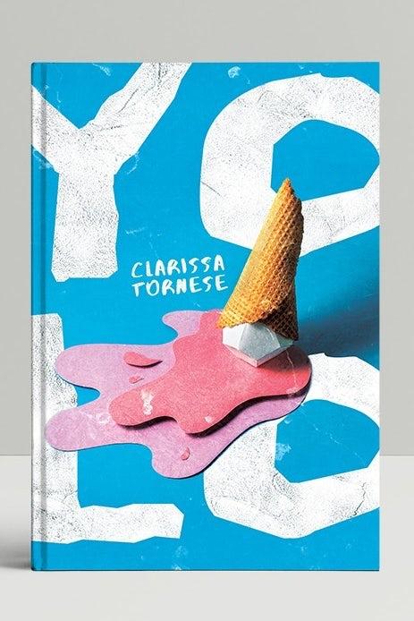 Ejemplo de tendencias de diseño gráfico 2020: estilo de recorte de papel para un diseño de portada de libro