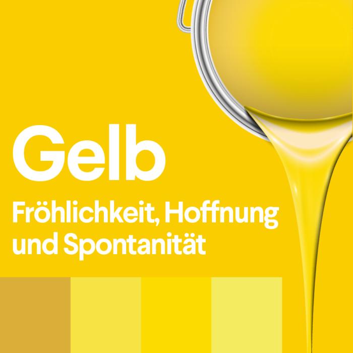 gelb und seine bedeutung