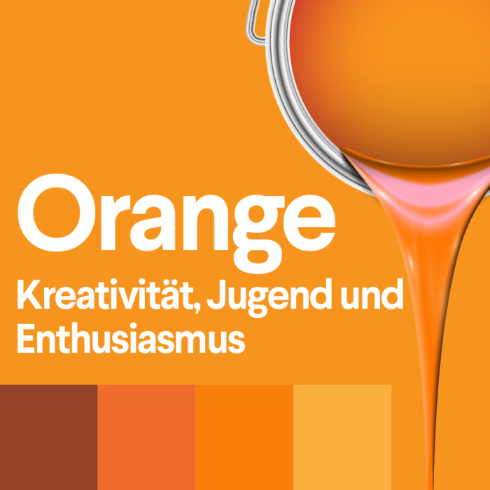 orange und seine bedeutung