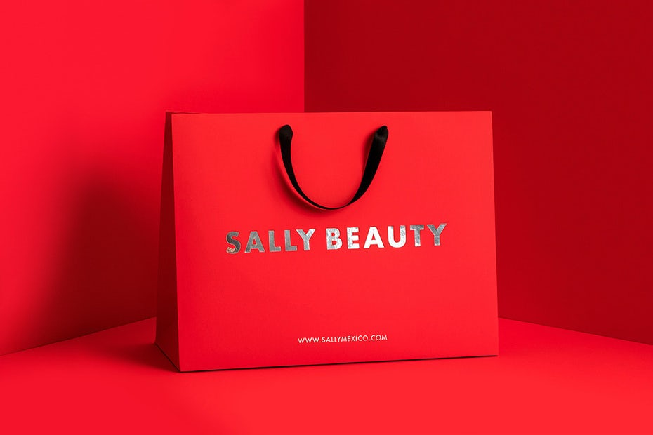 Sally Beauty branding
