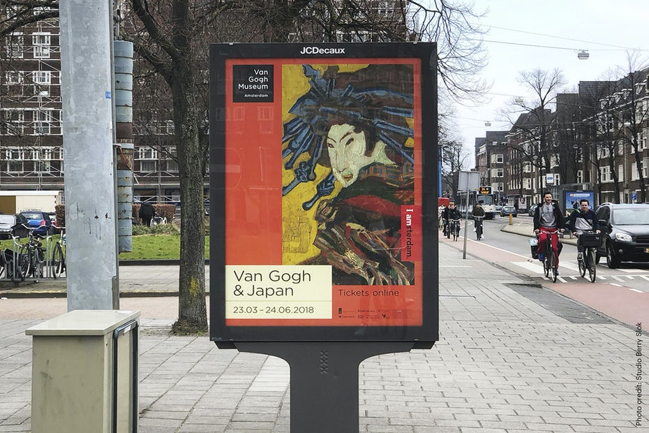 Van Gogh Museum visual identity