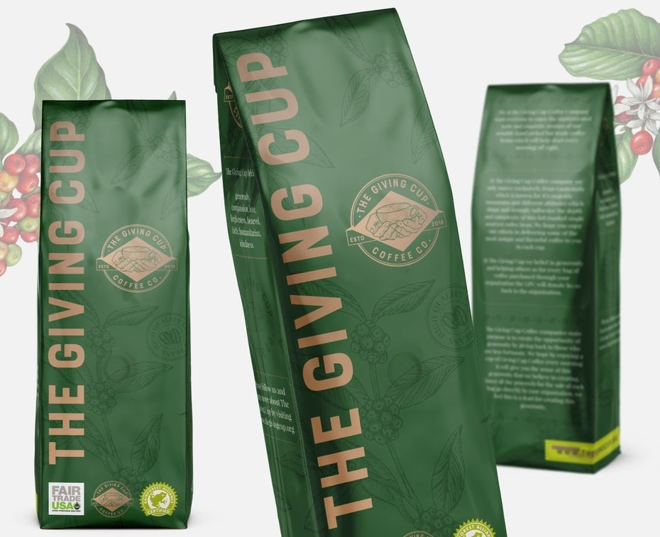 Branding trends 2020 example: Coffee packaging