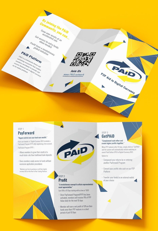 Digital currency brochure