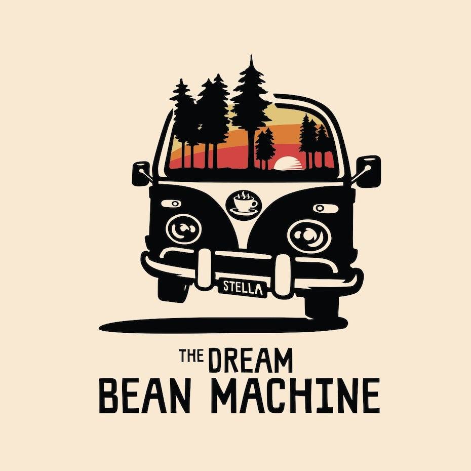 The Dream Bean Machine logo