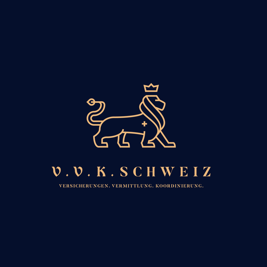 Logo design with a classical font