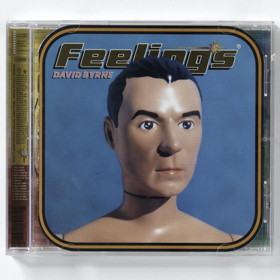 David Byrne Feelings album cover