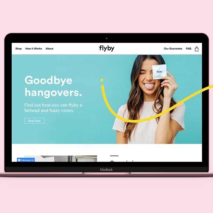 Flyby brand identity