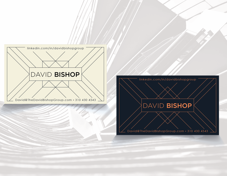 david bishop business card