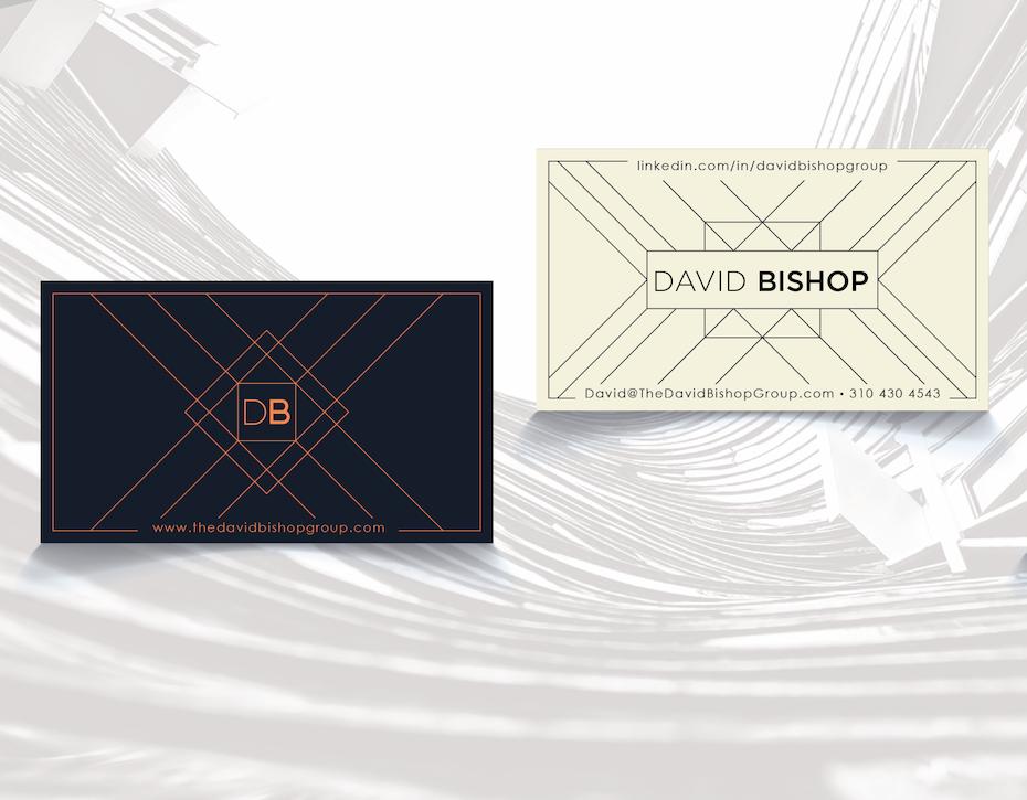 david bishop business card