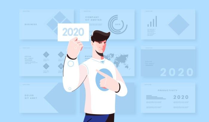 Business card design trends 2020