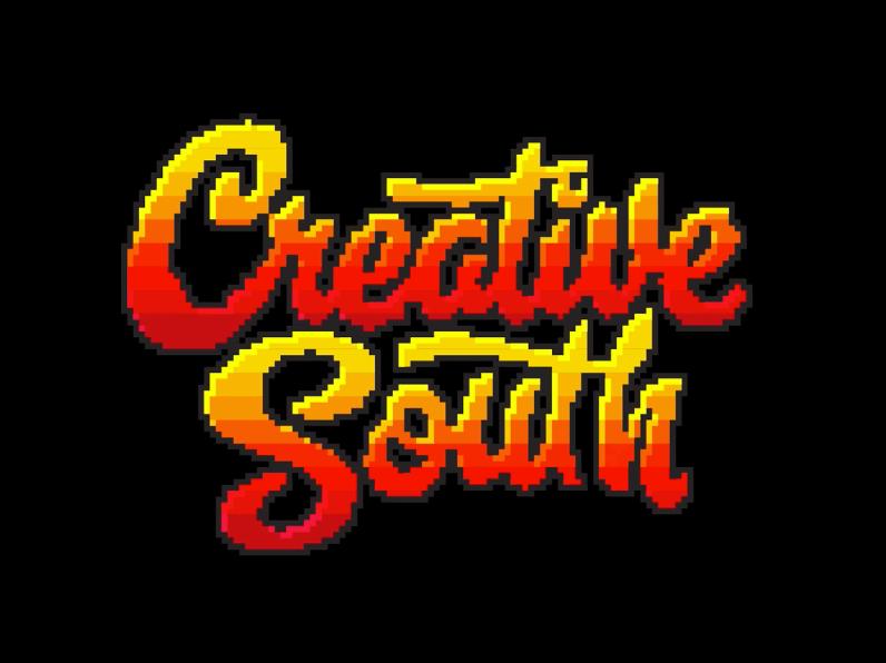 Font trends 2020 example: pixel font