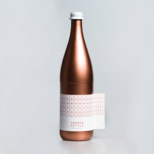 Branding trends 2020 example: Copper Kettle beer packaging