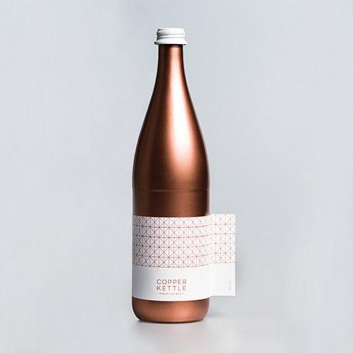 Copper Kettle beer packaging