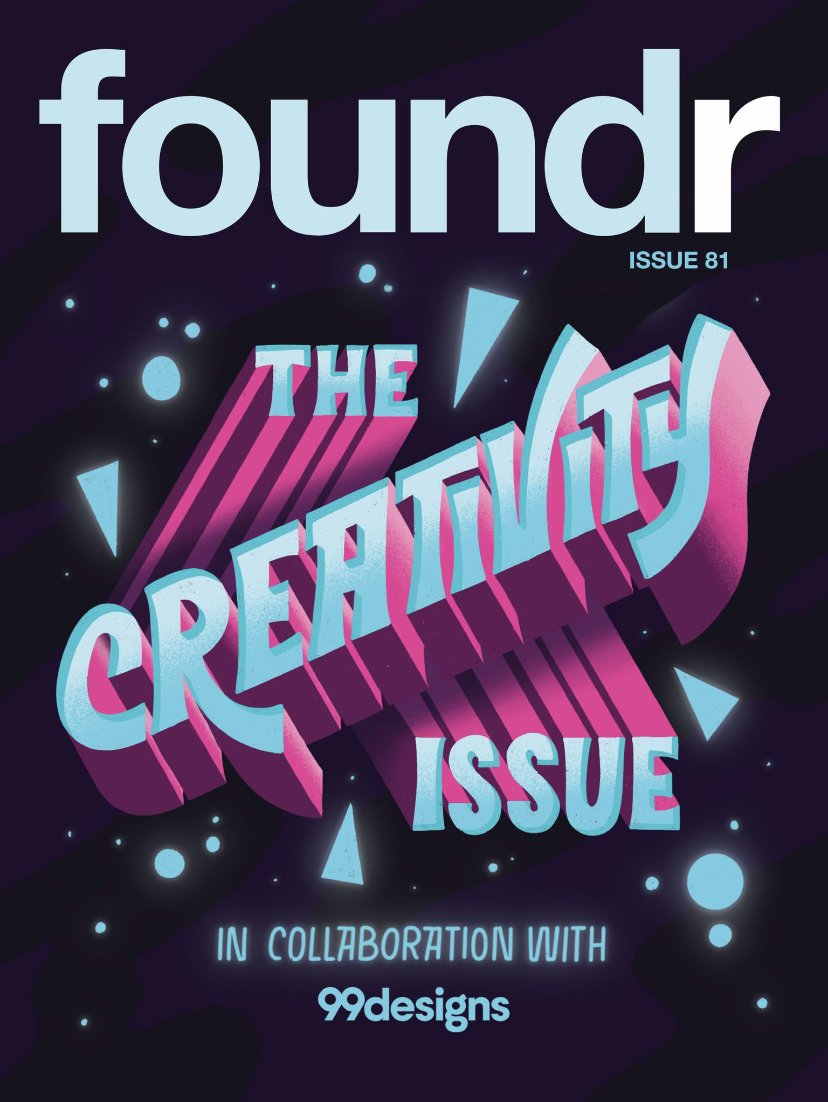 Foundr Creativity Issue Cover