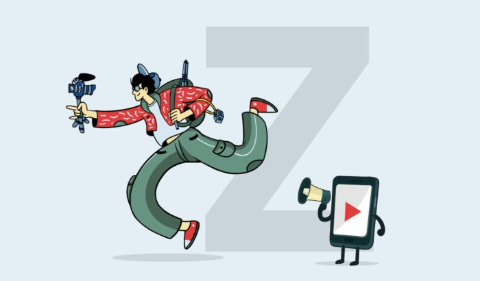 Marketing to Gen Z illustration