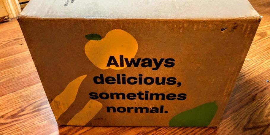 Misfits Market packaging