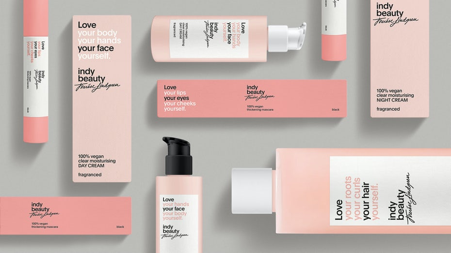 Indy Beauty packaging