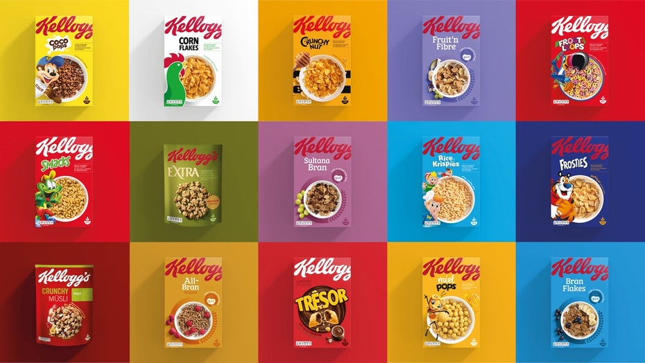 Kellogg's packaging
