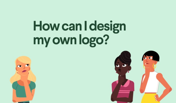 How can I design my own logo