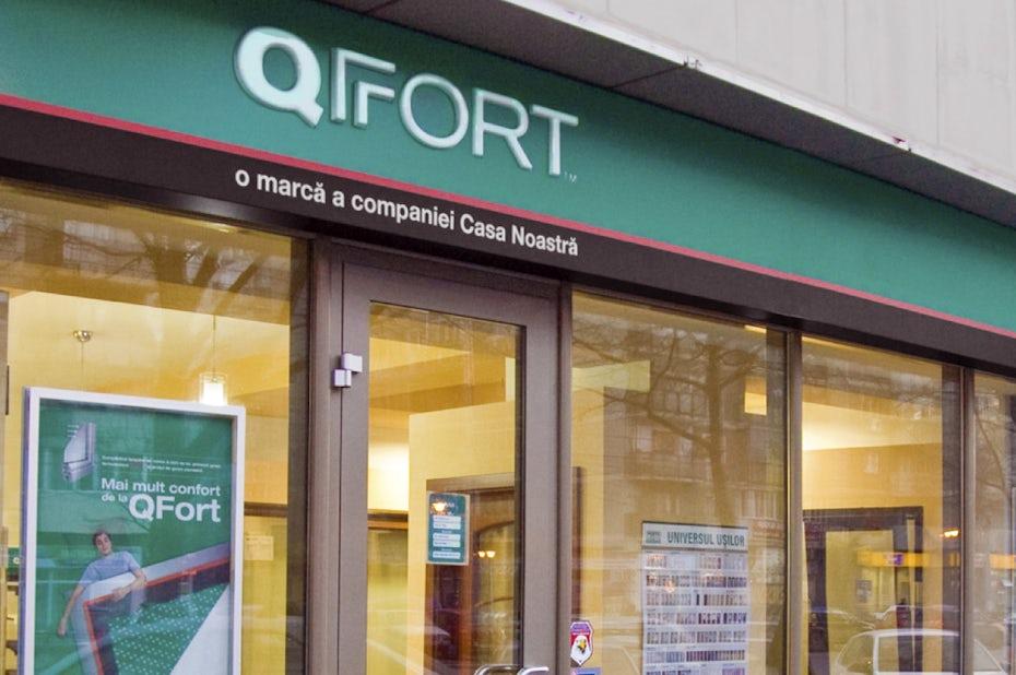 Qfort brand identity