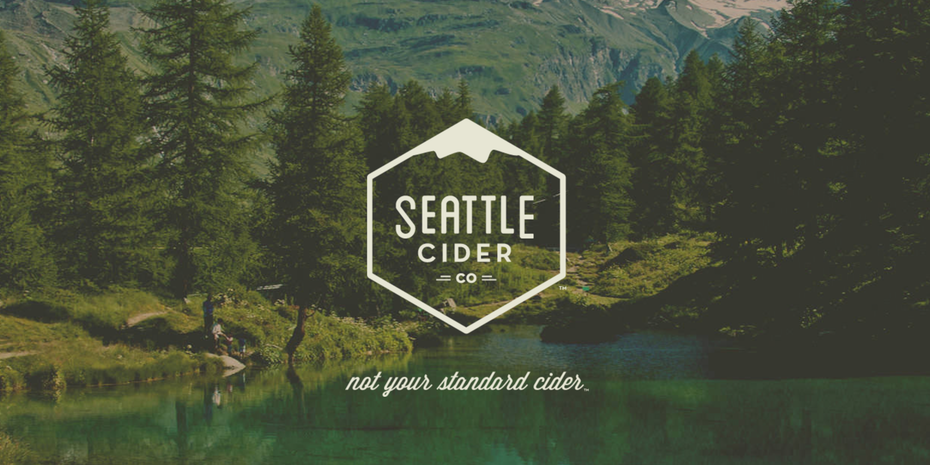 Branding trends 2020 example: Seattle Cider Company landing page