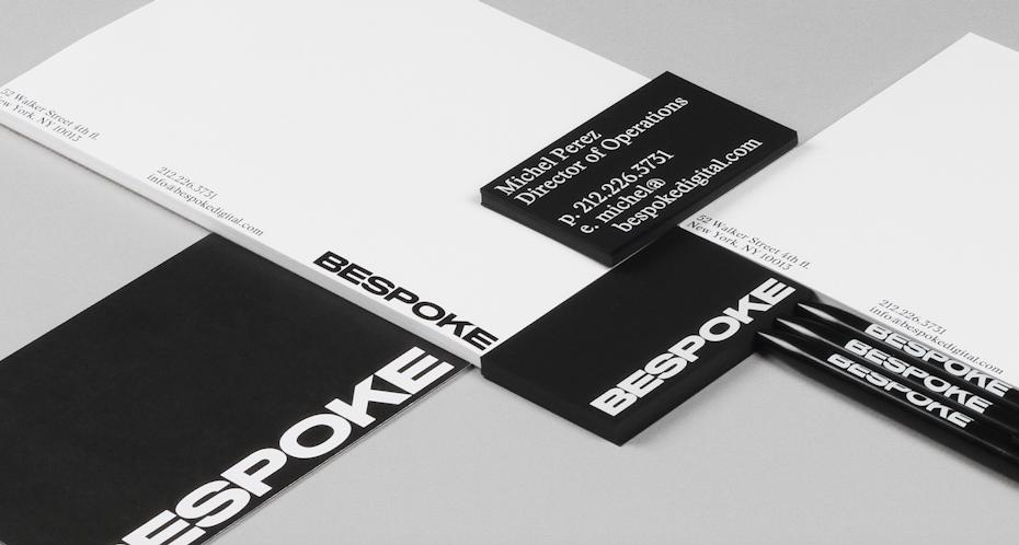 Bespoke brand identity