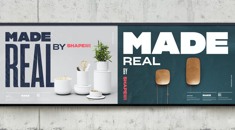 Shapeways brand identity